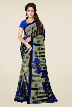 Shonaya Beige Floral Print Saree