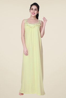 honeydew Lime Lace Night Gown