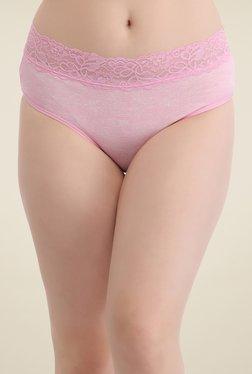 Clovia Pink Lace Bikini Panty - Mp000000000818105