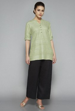 Zuba by Westside Green Solid Kurti