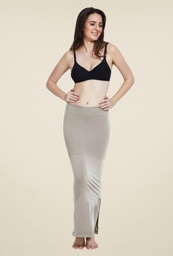 Zivame Beige Mermaid Saree Shapewear