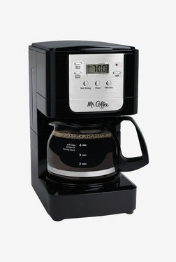 Mr.Coffee Advanced Brew 5-Cup Coffee Maker (Black/Chrome)