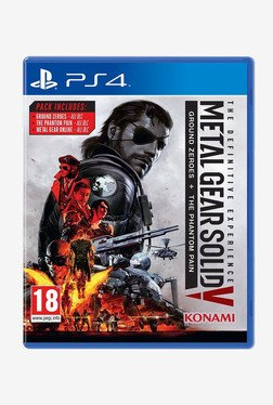 Metal Gear Solid V The Definitive Edition For PS4
