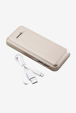 Nextech SVELTE 13000mAh Power Bank with LED Torch (Gold)