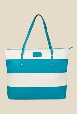 Lomond LM160 Blue and White Striped Tote Bag