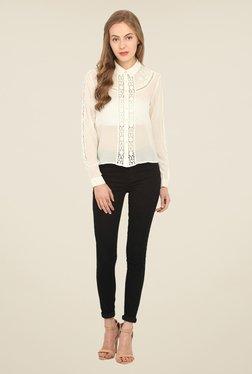 Honey & B Off White Lace Shirt - Mp000000000839021