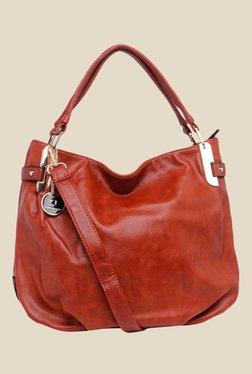 Fur Jaden Dark Brown Solid Tote Bag