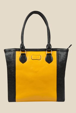 Lomond LM16 Black And Yellow Shoulder Bag