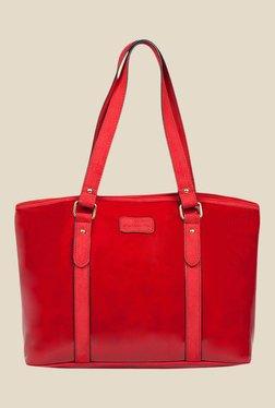 Lomond LM35 Wine Red Solid Shoulder Bag