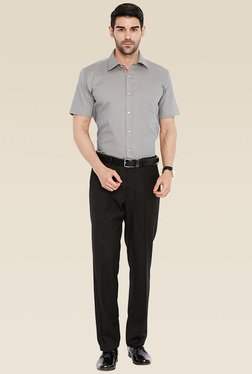 Park Avenue Men Grey Shirt