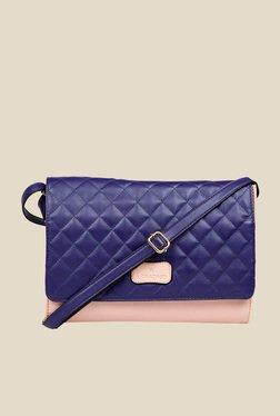 Lomond LM39 Blue Quilted Sling Bag