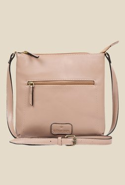 Lomond LM49 Mocca Zippered Sling Bag