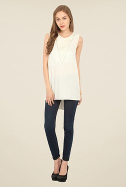 Honey & B Off White Lace Top