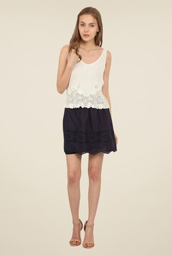 Honey & B Off White Lace Top - Mp000000000839893