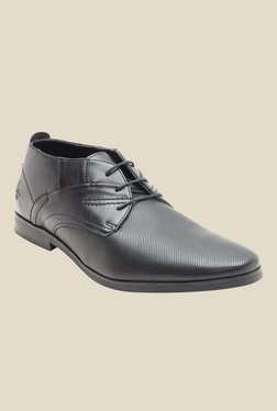 Bond Street By Red Tape Black Derby Shoes - Mp000000000841743