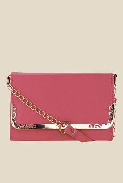Shoetopia Red Frame Design Sling Bag
