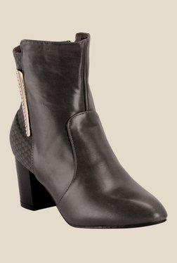 Nell Dark Grey Booties