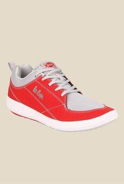 Lee Cooper Red & Grey Indoor Court Shoes