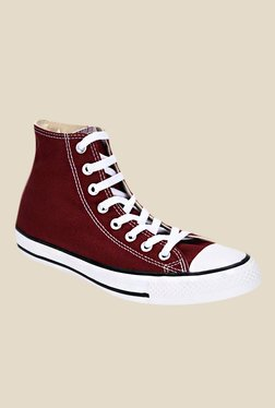 Converse High Top Red Sneakers