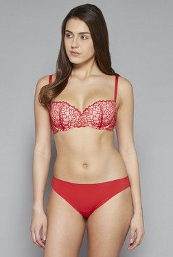 Wunderlove by Westside Red Chloe Seamless Hipster
