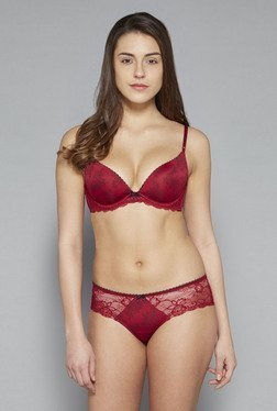 Wunderlove By Westside Dark Red Payton Hipster