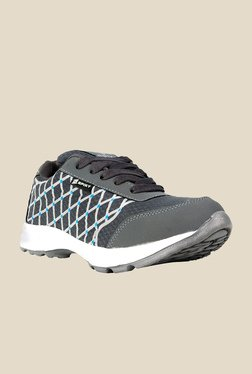 Spiky Grey & Blue Running Shoes