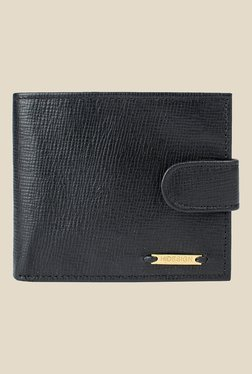 Hidesign Ee 2020Sc Black Leather Wallet