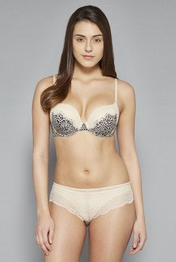 Wunderlove by Westside Beige Eva Super Push Up Bra