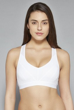 Wunderlove by Westside White Sports Bra