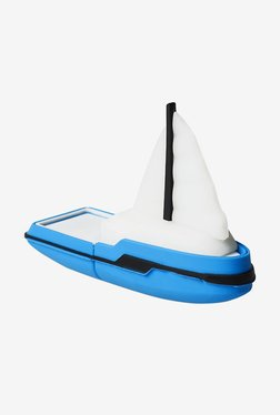 Microware Boat Yacht Ship Shape 16 GB Pen Drive (Blue)