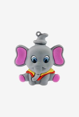 Microware Elephant Shape 16 GB Pen Drive (Grey)