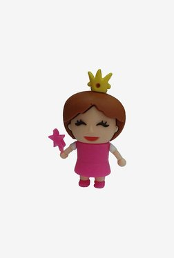 Microware Princess Shape 16 GB Pen Drive (Pink)