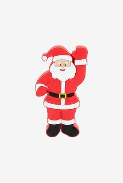 Microware Santa Claus Raising Hand 16 GB Pen Drive (Red)