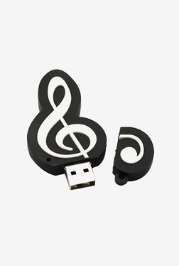 Microware Sheet Music Tweeter Pen Drive 16GB (Black/White)