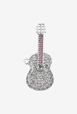 Microware Silver Metal Guitar 16 GB Pen Drive