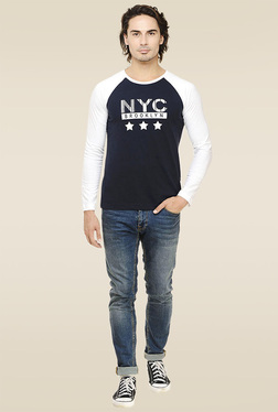 Rigo Navy Slim Fit T-Shirt