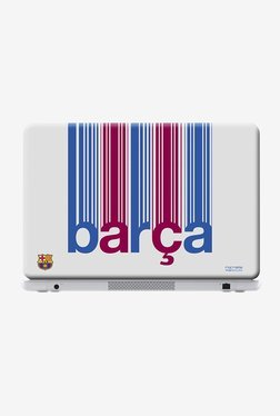 "Barca Decoded Laptop Skin For 14"" Laptops"