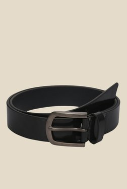 The Bro Code Black Solid Leather Belt