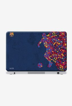 "FCB Asymmetrical Art Laptop Skin For 12"" Laptops"