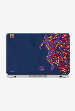 "FCB Asymmetrical Art Laptop Skin For 13"" Laptops"