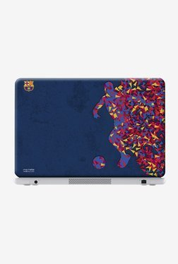 "FCB Asymmetrical Art Laptop Skin For 14"" Laptops"