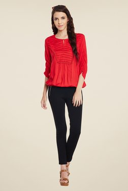Meee Red Solid Top - Mp000000000855979