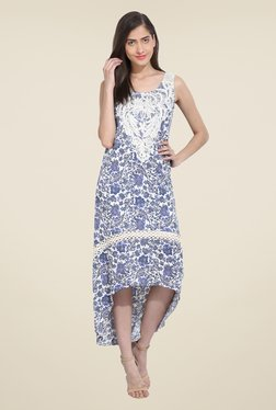 RSVP Cross Multi Floral Print Dress