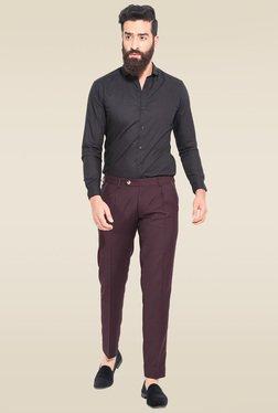 Mr. Button Wine Slim Fit Trouser