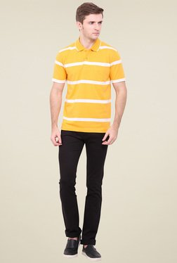 Duke Yellow Shirt Collar T-Shirt
