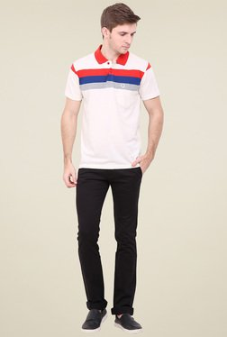Duke White Shirt Collar T-Shirt