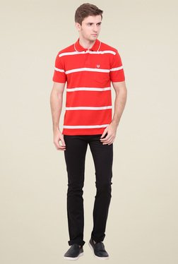 Duke Red Shirt Collar T-Shirt - Mp000000000868987