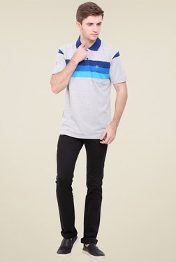 Duke Light Grey Striped T-Shirt
