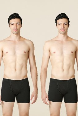 Liberty Black Solid Trunks (Pack of 2)