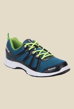 Reebok Teal Blue   Navy Running Shoes 899b3f06a
